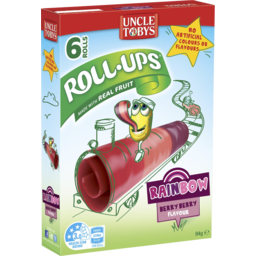 Photo of Uncle Tobys Roll Ups Berry Berry 6pk 94g