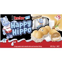 Photo of Kinder Happy Hippo Hazelnut 5pk