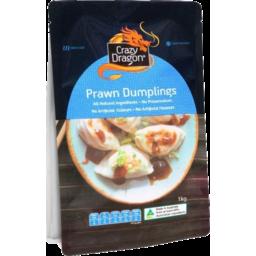 Photo of Crazy Dragon Prawn Dumplings 1kg
