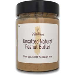 Photo of 99th Monkey Peanut Butter Unsalted (300g)