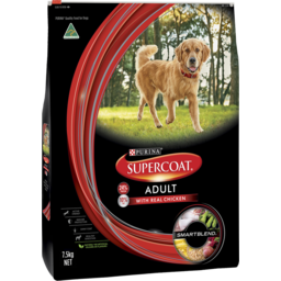 Photo of Purina Supercoat Adult Dog Chicken Dry Dog Food 7.5kg