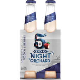 Photo of 5 Seeds Night Orchard Apple Cider with Vodka & Berries 275ml 4 Pack
