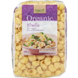 Photo of Macro Organic Pasta Shells 500g