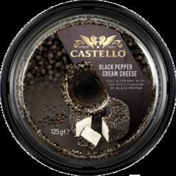 Photo of Castello Black Pepper Cream Cheese 125g
