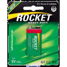 Photo of Rocket Battery Hd 9v 1pk