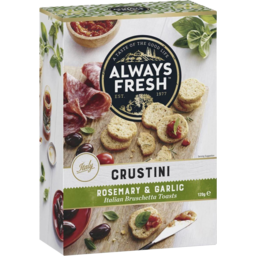 Photo of Always Fresh Crustini Rosemary & Garlic 120gm