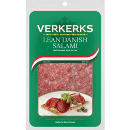 Photo of Verkerks Salami Lean Danish 100g