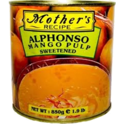 Photo of Mother's Alphanso Pulp 850g
