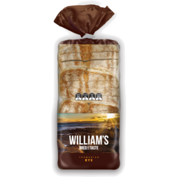 Photo of Williams Tasmanian Rye Bread 900g