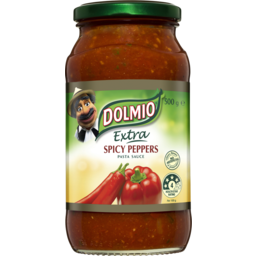 Photo of Dolmio Extra Spicy Peppers Pasta Sauce 500g