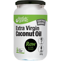 Photo of Absolute Organic Oil - Coconut - (Extra Virgin/Raw Cold Pressed)