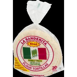 Photo of La Banderita Ricas Flour Tortillas Family Pack