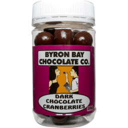 Photo of Byron Bay Choc Co Dark Choc Cranberries