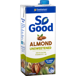 Photo of So Good Almond Milk Unsweetened 1L