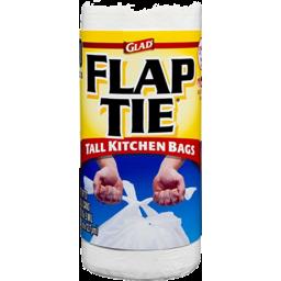 Photo of Glad Flap Tie White