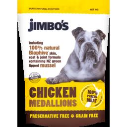 Photo of Jimbo's Chicken Medallions 1kg