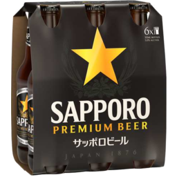 Photo of Sapporo Premium Beer Bottles