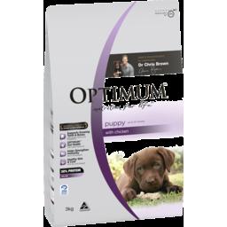 Photo of Optimum Puppy Dry Dog Food Chicken 3kg Bag