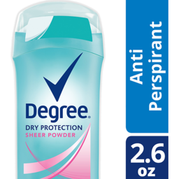 Photo of Degree Body Responsive Sheer Powder Invisible Solid Deodorant