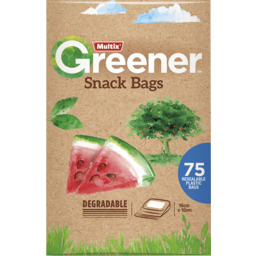 Photo of Multix Snack Bag Degradable75s