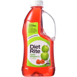 Photo of Diet Rite Apple Raspberry Cordial 1lt