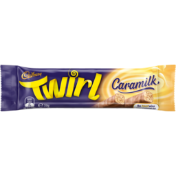 Photo of Cadbury Twirl Caramilk Chocolate Bar 39g