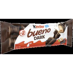 Photo of Kinder Bueno Dark Chocolate Bar 43g