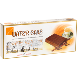 Photo of Slavica Bakery Cappuccino Wafer Cakes 260g