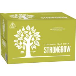 Photo of Strongbow Classic Pear Cider Stubbies