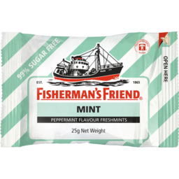 Photo of Fisherman's Friend Peppermint Sugar Free 25gm