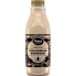Photo of Puhoi Flavoured Milk Colombian Espresso 750ml