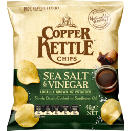 Photo of Copper Kettle Chips Sea Salt & Vinegar 40g