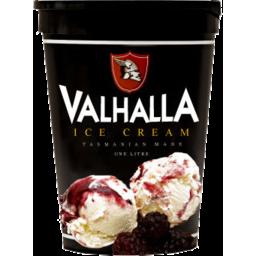 Photo of Valhalla Ice Cream Boysenberry 1L