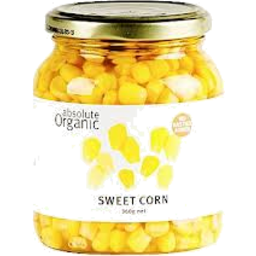 Photo of Absolute Organic - Sweet Corn - 350g