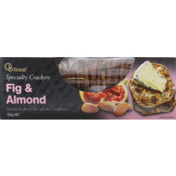 Photo of Ob Finest Fig & Almond Crackers 150gm