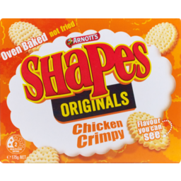 Photo of Arnott's Shapes Chicken Crimpy 175g