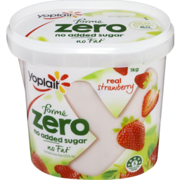 Photo of Yoplait Forme Zero Yoghurt Strawberry 1kg