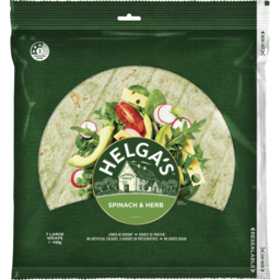 Photo of Helgas Wrap Spinach & Herb 490gm