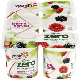 Photo of Yoplait Forme Zero Yoghurt Berry Harvest Multipack ( 6 X 160 Gms)