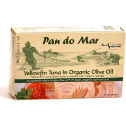 Photo of Pan Do Mar Tuna Yellowfin Org Oil 120gm