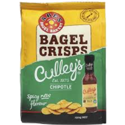Photo of Abe's Real Bagel Crisps Culley'S/ Chipotle 150g 150g