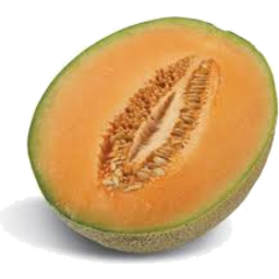 Photo of Melon Rock/Canteloupe Half