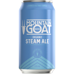 Photo of Mountain Goat Steam Ale 375ml Can
