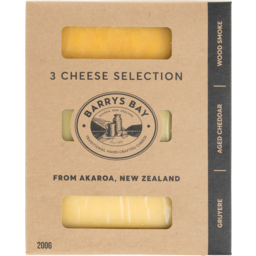 Photo of Barrys Bay 3 Cheese 200g