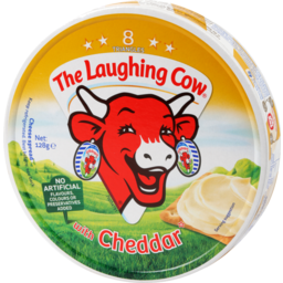 Photo of The Laughing Cow Cheese Cheddar 128g