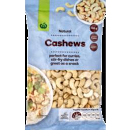 Photo of WW Cashews Natural 450g