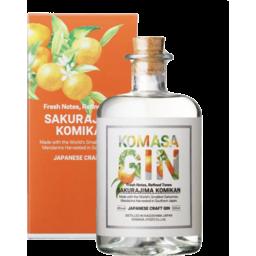 Photo of Komasa Japanese Mandarin Gin 500