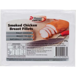 Photo of Pioneer Chicken Breast Fillets Smoked 375gm