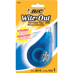 Photo of Bic Wite Out Ez Correction Tape Correction Tape