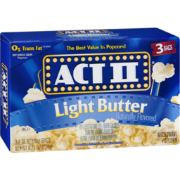 Photo of Act Ii Light Butter